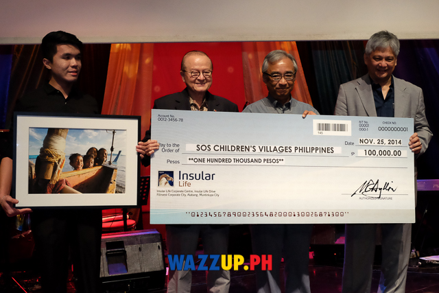 Insular Life gives Php 100000 to SOS Children's Villages  at the Insular Life 104th Anniversary-0162