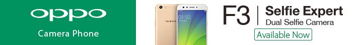 OPPO F3 Gold Edition Smartphone